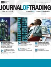 The Journal of Trading: 12 (3)