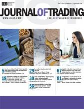 The Journal of Trading: 12 (4)