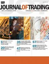 The Journal of Trading: 13 (2)