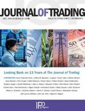 The Journal of Trading: 13 (4)